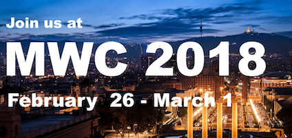 MWC '18 Introduction Fest: Gaat u mee naar Mobile World Congress 2018?