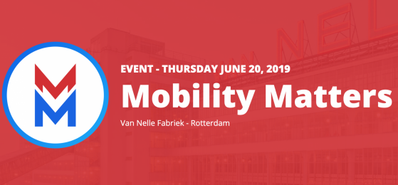 BLAUD & MOBCO presents Mobility Matters in Van Nelle Fabriek Rotterdam
