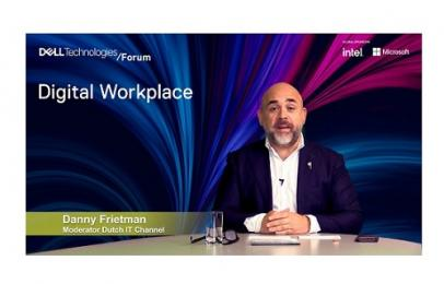 Dell Technologies belicht Digital Workplace trends in Dutch IT Talkshow